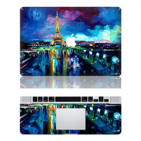 The Eiffel Tower--macbook pro cover decals mac pro cover stickers macbook pro decal mac pro stickers macbook air cover stickers for pro/air