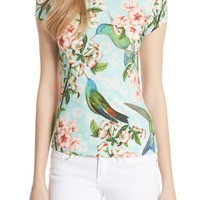 Ted Baker London Tilldar Nectar Fitted Tee | Nordstrom