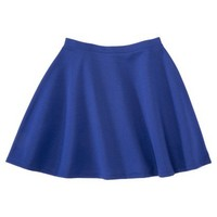 Xhilaration® Juniors Solid Ponte Skirt - Assorted Colors