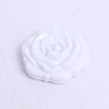3D Rose Compact Mirror