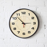 RESERVED large simplex school wall clock