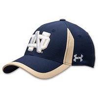 Notre Dame Fighting Irish Under Armour NCAA Navy Blue Adult Hat