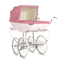 Silver Cross Balmoral Pram in Pink