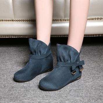 Bow Ankle Boots Women Shoes Fall|Winter 3940
