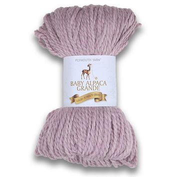Plymouth Peru Baby Alpaca Grande Yarn - Pink Heather