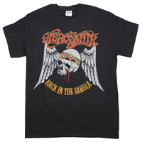 Aerosmith Back in the Saddle T-Shirt - Black - Medium