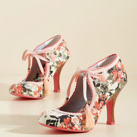 Garden Party Glam Heel in Melon