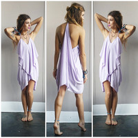 A Flowy Little Lavender Dress