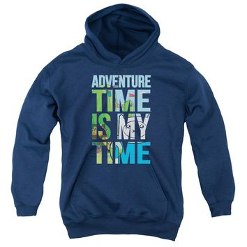 Adventure Time - My Time Youth Pull Over Hoodie