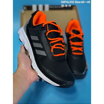 DCCK A242 Adidas Terrex Voyagerr Cw Cp Sports Casual Running Shoes Black Orange