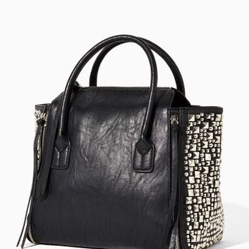 Danika Stud-Mix Tote | Fashion Handbags & Purses | charming charlie