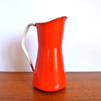 Vintage Dansk Kobenstyle Red Pitcher