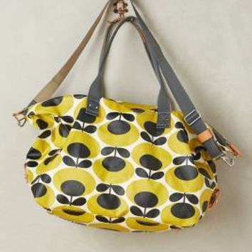 Orla Kiely Oval Stem Weekender in Yellow Size: One Size Bags