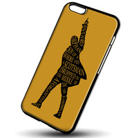 Hamilton My Shot Typography for iPhone 6/6S Case