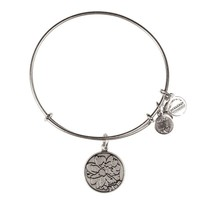 Alex and Ani Mom Charm Bangle - Russian Silver