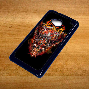 metal band slayer For Htc One M7 Case *76*