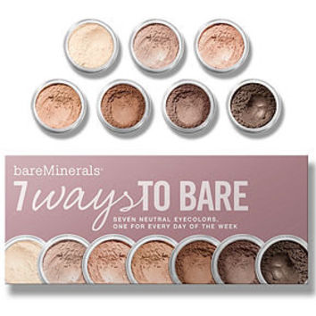 Bare Escentuals bareMinerals 7 Ways to Bare Makeup Value Set - Gifts and Value Sets - Beauty - Macy's