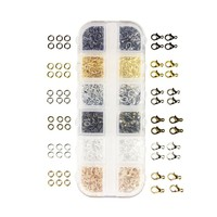Jewelry Findings Kit 12mm Lobster Clasp and Jump Rings for Jewelry Making