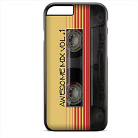 Guardians Of The Galaxy Awesome Mix Vol 1 Cassete Tape Apple Phonecase For Iphone 4/4S Iphone 5/5S Iphone 5C Iphone 6 Iphone 6S Iphone 6 Plus Iphone 6S Plus