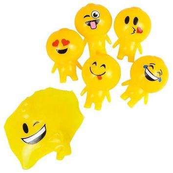 "3"" emoji splat ball buddy Case of 144"