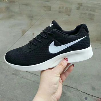 """Nike Roshe Run"" Unisex Sport Casual Classic Running Shoes Couple Fashion Sneakers"
