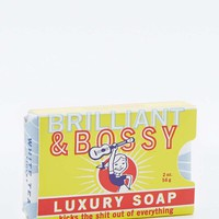 Blue Q Brilliant and Bossy Soap - Urban Outfitters
