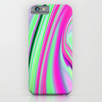 Abstract Fluid 8 iPhone & iPod Case by Arrowhead Art