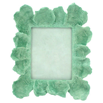 Coral Picture Frame, 8x10, Green, Frames