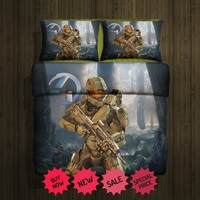 Halo4 Fleece Blanket Large & 2 Pillow Case #85516020,85516022(2) - Home Deco On Line