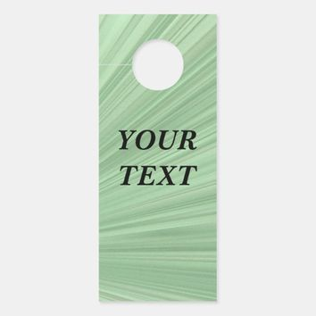 Artistic Art Design Door Hanger