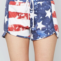 Red, White, and Blue Shorts