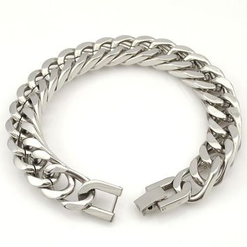 Stainless Steel Bracelet & Bangle Male Accessory