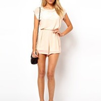 Love Lace Playsuit at asos.com