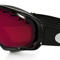 Oakley PRIZM Crowbar Snow in JET BLACK / PRIZM GOGGLE ROSE | Oakley