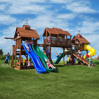 Kid's Creations Adventure Mountain Playset - Installation Included