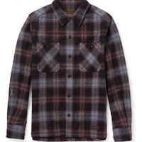 PRODUCT - Neighborhood - Plaid Wool-Blend Shirt - 387040 | MR PORTER