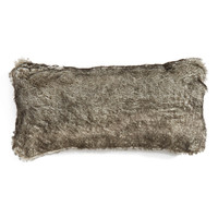 'Cuddle Up' Faux Fur Rectangular Accent Pillow
