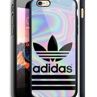 Top Adidas717 Stripe Pastel Hard Case For iPhone 6 6+ 6s 6s+ 7 7+ 8 8+ X Cover