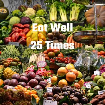 A Teeny Tiny Reminder: EAT WELL