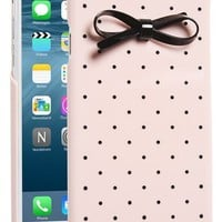 kate spade new york 'gold dot & bow' iPhone 6 case | Nordstrom