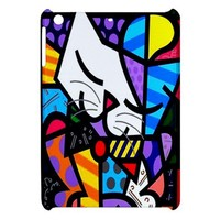 Romero Britto Cats Apple iPad Mini Hardshell Case