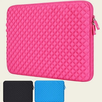 """Newest Diamond Sleeve Case For Macbook Laptop AIR PRO 11.6"""",13.3, 15.4 inch, Protecter 11 ,13, 15 inch Case,  Free Shipping"""