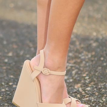 Simply Strapped Wedge