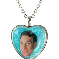 BILL NYE GLITTER NECKLACE