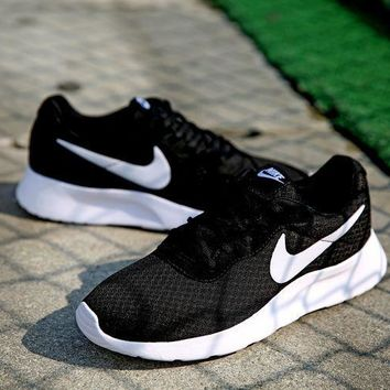Nike Roshe Run Sport Casual Shoes Sneakers Black Size 36-44-2