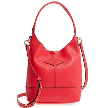 Rag & Bone Red Mini Camden Shopper Handbag