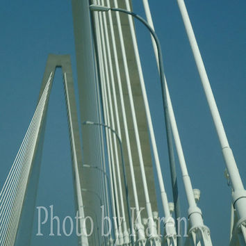 Ravenel Bridge 5 x 7 Original Photograph other by ClicksByKaren