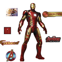 Iron Man Avengers Age Of Ultron Fathead Jr