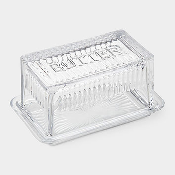 Glass Butter Dish | MoMA