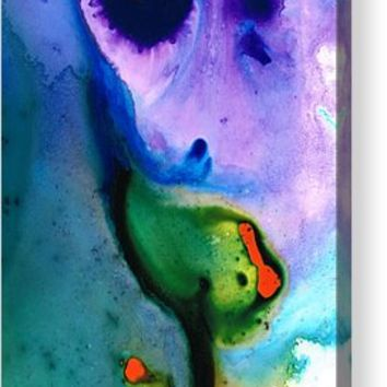 Paradise Found - Colorful Abstract Painting Acrylic Print